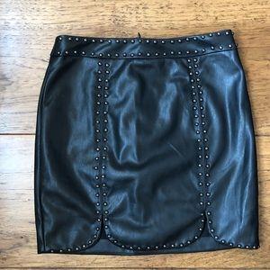 LF Leather skirt